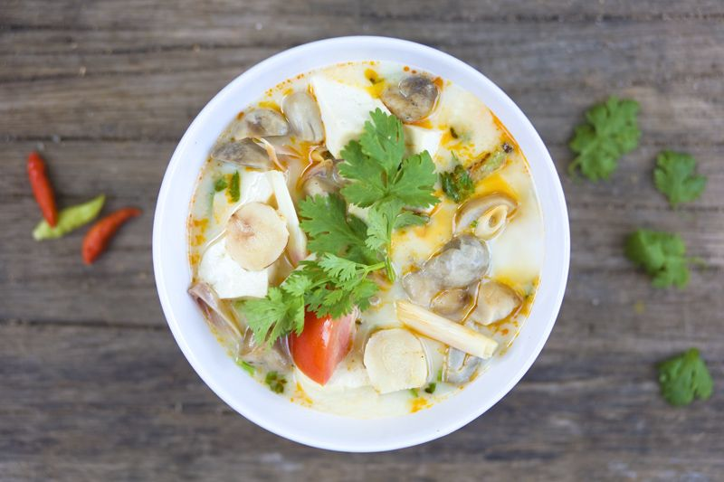 Tom Kha Tofu
