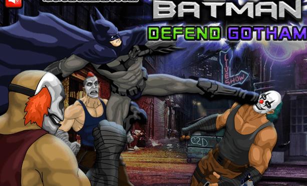 لعبة باتمان للدفاع عن الضعفاء موقع العاب فلاش ميدو Gotham Batman Gotham Show