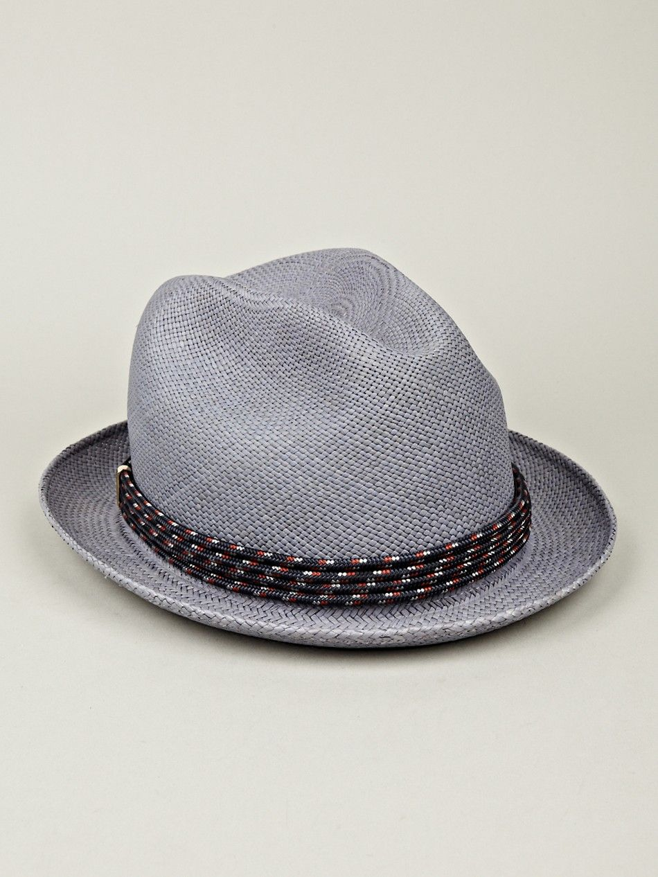 4e32bfd6 Miansai Men's Panama Hat in navy blue at oki-ni | Clothes ...
