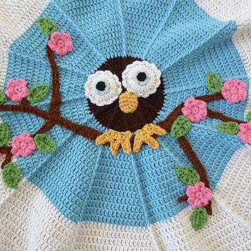 Owl Crochet Blanket Pattern Lots of Free Ideas You\'ll love   Häkeln