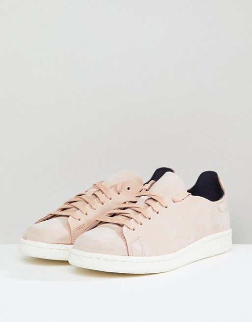 classic fit 7b5ec a8ed1 adidas Originals Stan Smith Nuud Nubuck Sneakers In Pink ...
