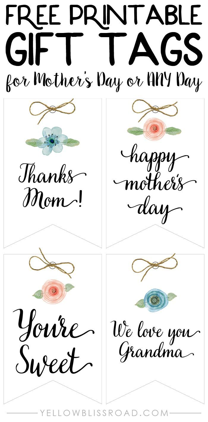 Mothers day mason jar gift ideas and free printable tags mothers day mason jar gift ideas and free printable tags printable tags free printable and jar negle Gallery