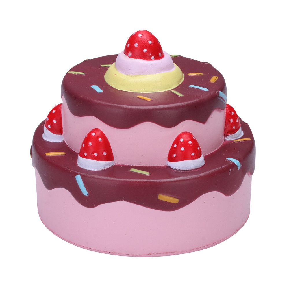 Vlampo Squishy Layer Birthday Cake Slow Rising Original Packaging