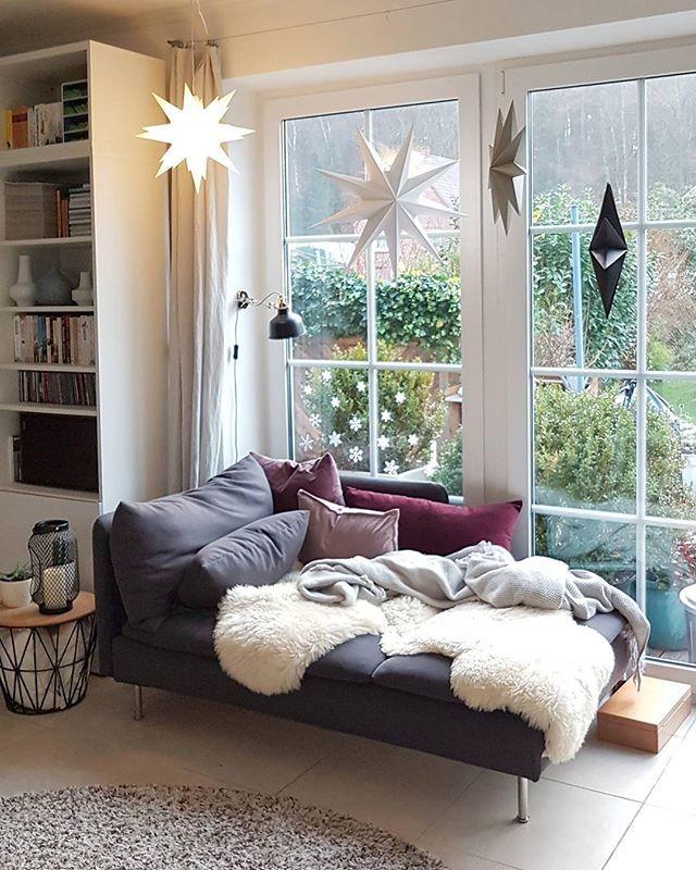 Gemütliche Leseecke am Fenster Wohnen, Zimmer gestalten