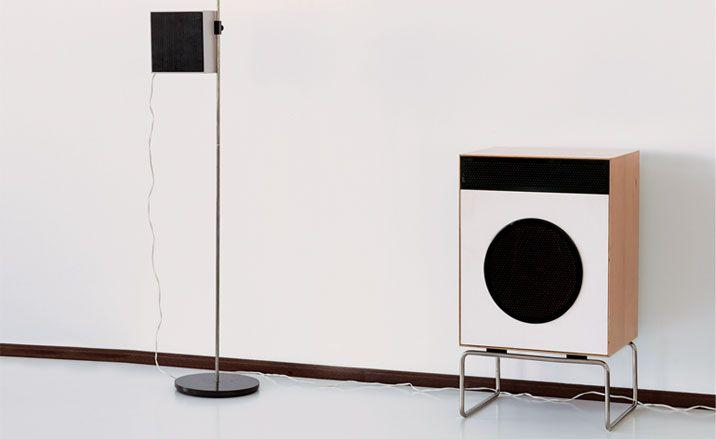 Dieter Rams : Braun, L2 and L01 Speakers