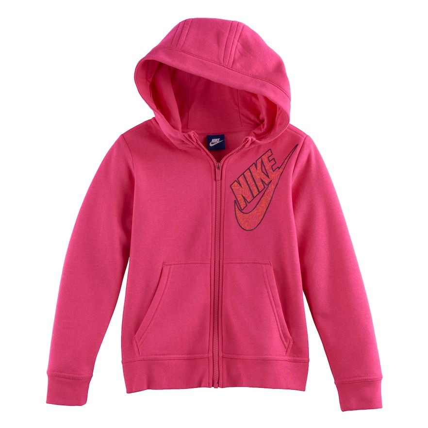 c798daf0222a Girls 7-16 Nike Zip-Up Hoodie