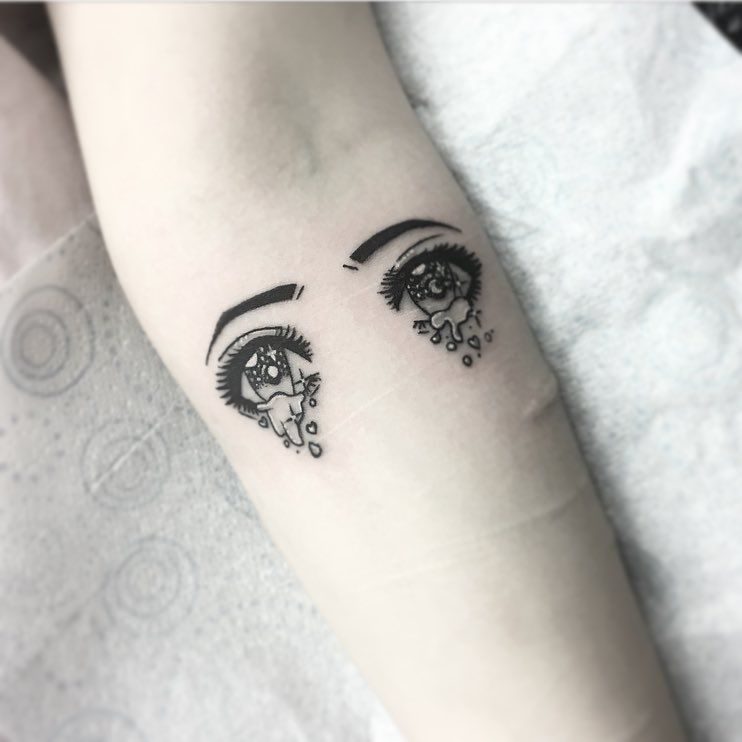 Anime Eyes Tattoo Eye Tattoo Tattoos Anime Eyes
