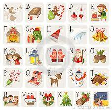 Afbeeldingsresultaat voor l'alfabeto di natale