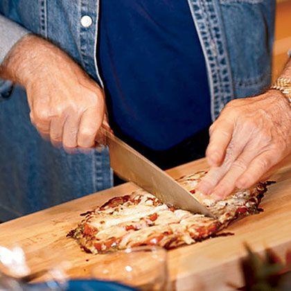 Margherita Tortilla Pizzas | MyRecipes