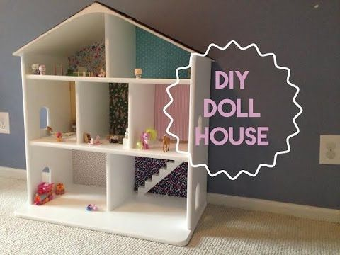 This Video Shows You How To Build Your Very Own Dollhouse Out Of