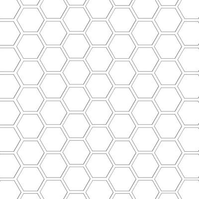 Hexagon Template Freebie Digi  Inches X  Inches Or