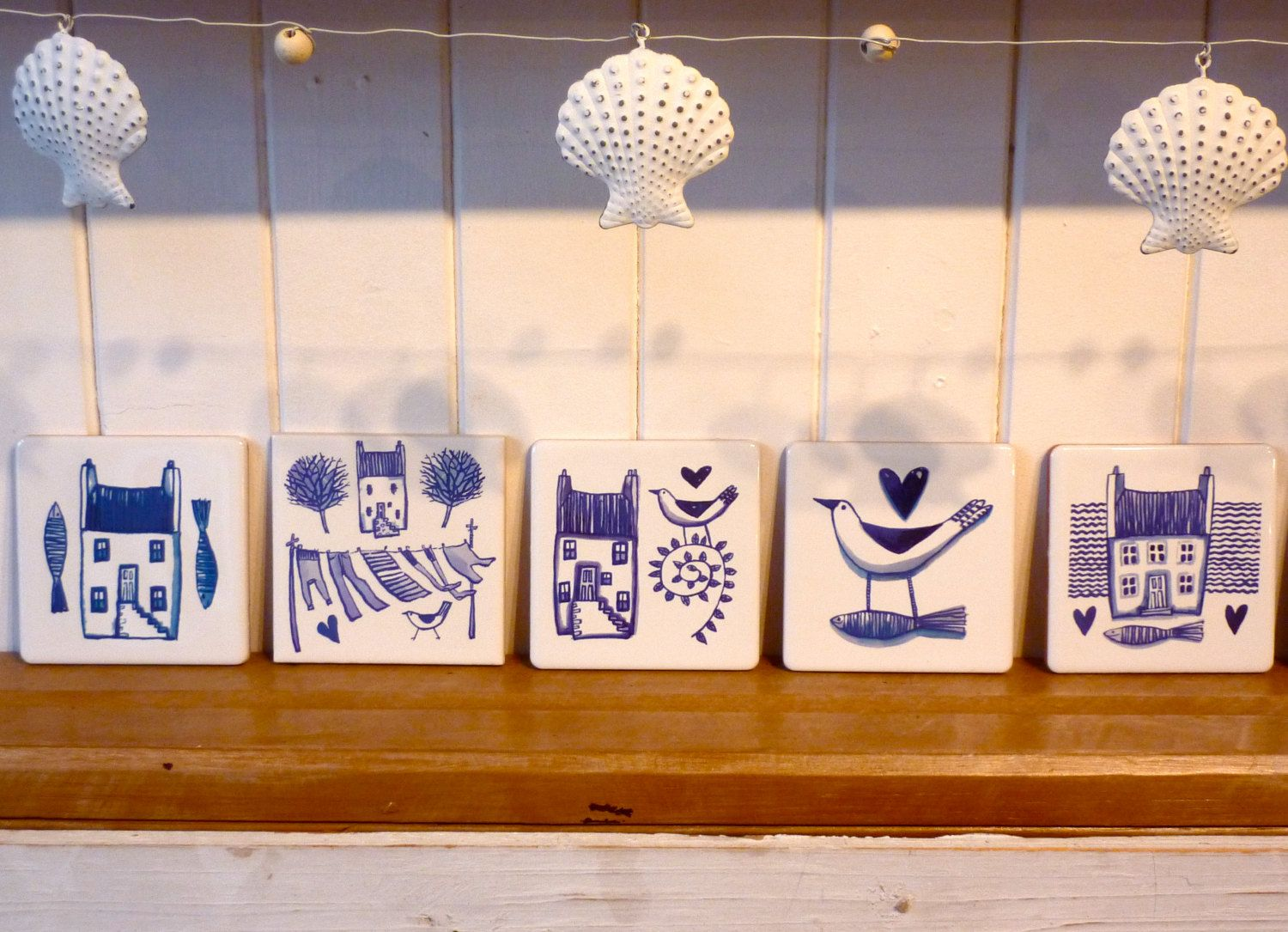 Blue and white ceramic tile house washing line pittenweem blue and white ceramic tile house washing line pittenweem blue range 4x4 dailygadgetfo Image collections