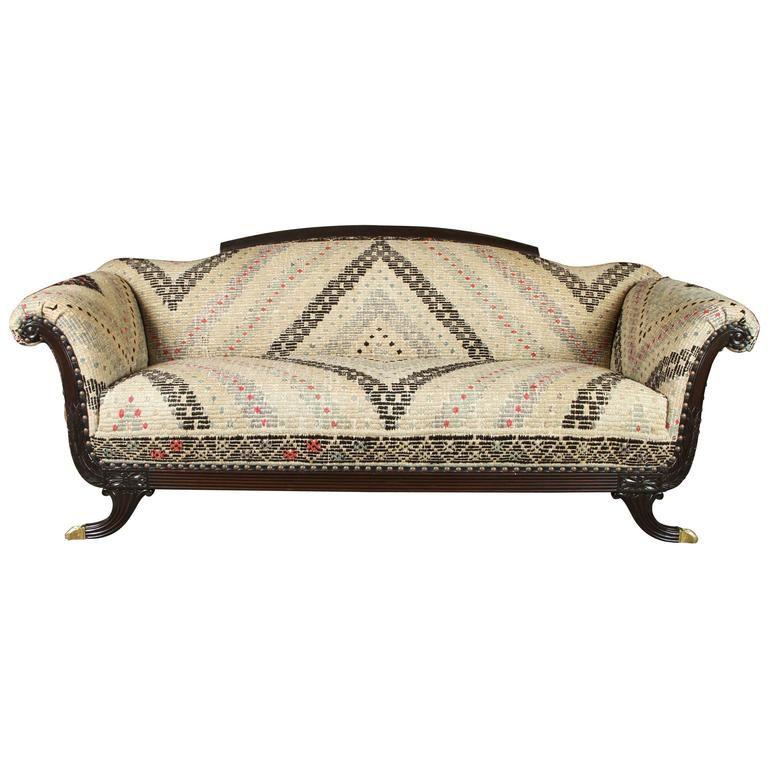 Duncan Phyfe Style Sofa, 1930s