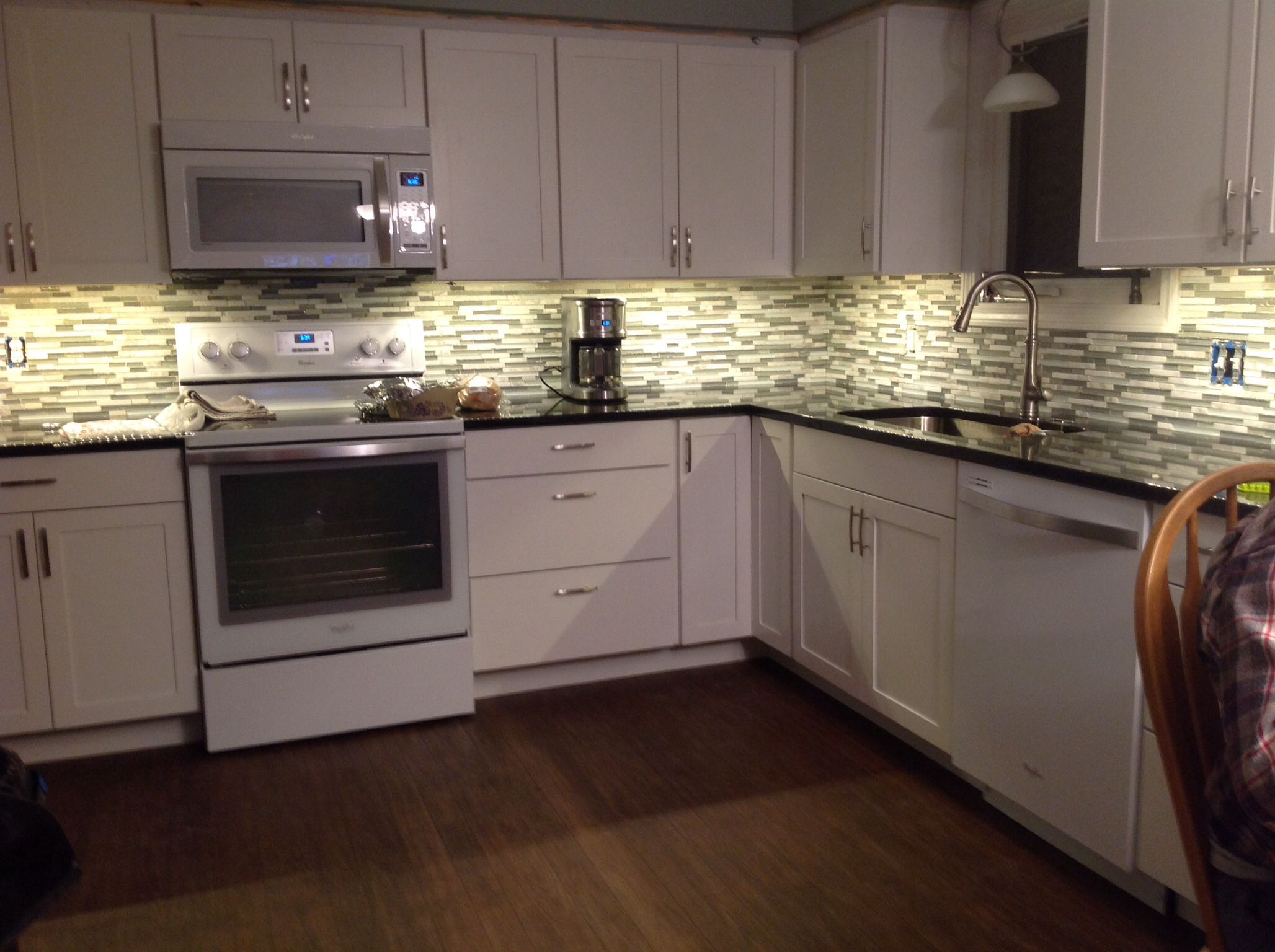 Whirlpool Ice Collection Appliances With White Cabinets