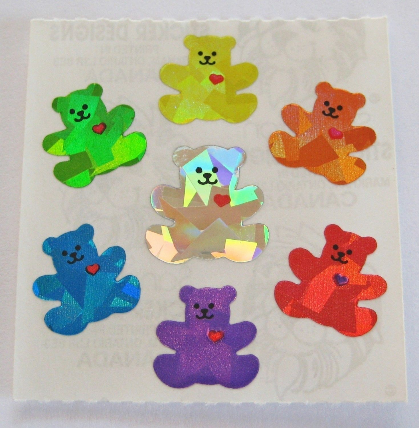 prism stickers....I had a sticker book and I would trade my stickers with other kids. Did you???