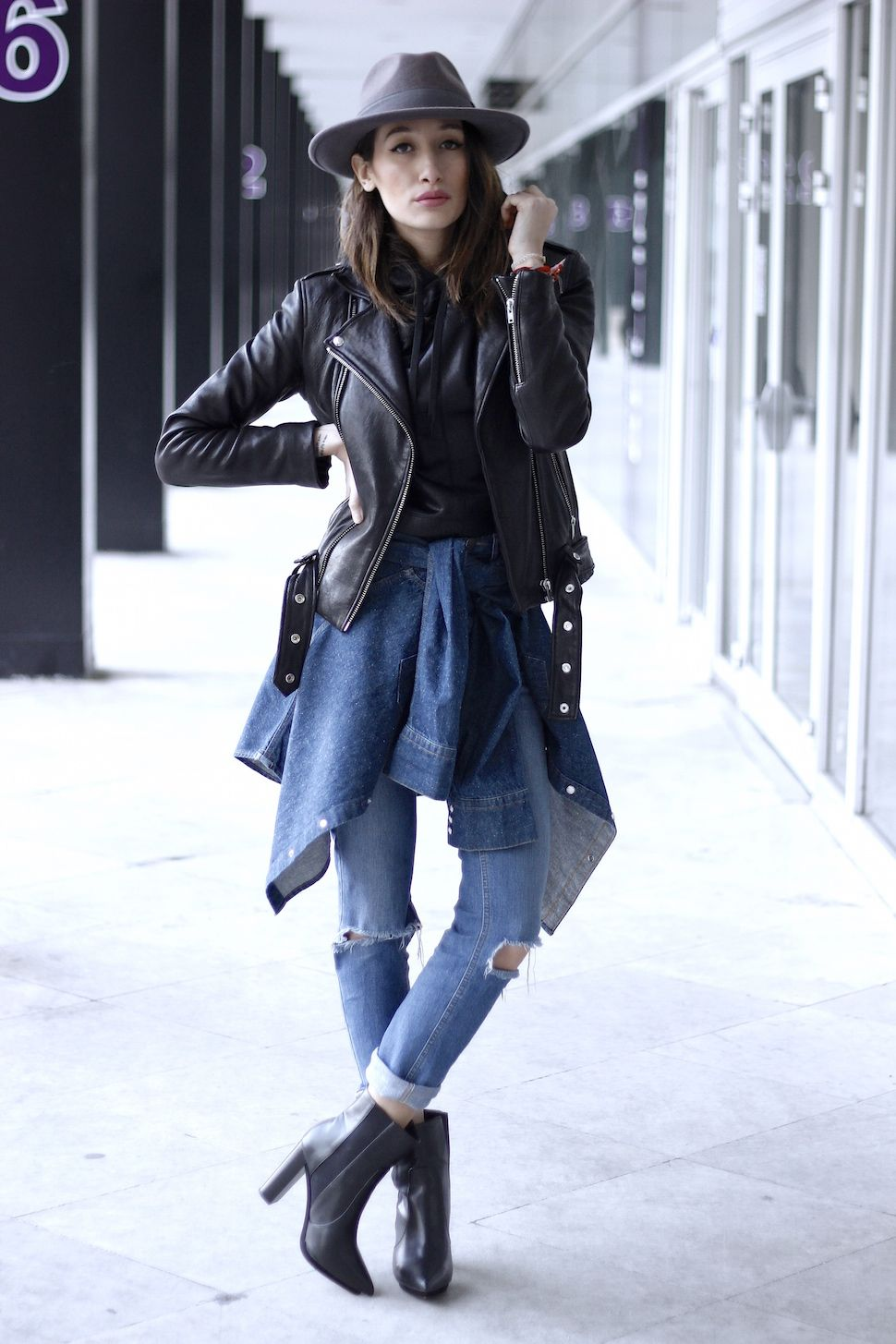 Alex's Closet - Blog mode et voyage - Paris | Montréal: Jeans and Leather