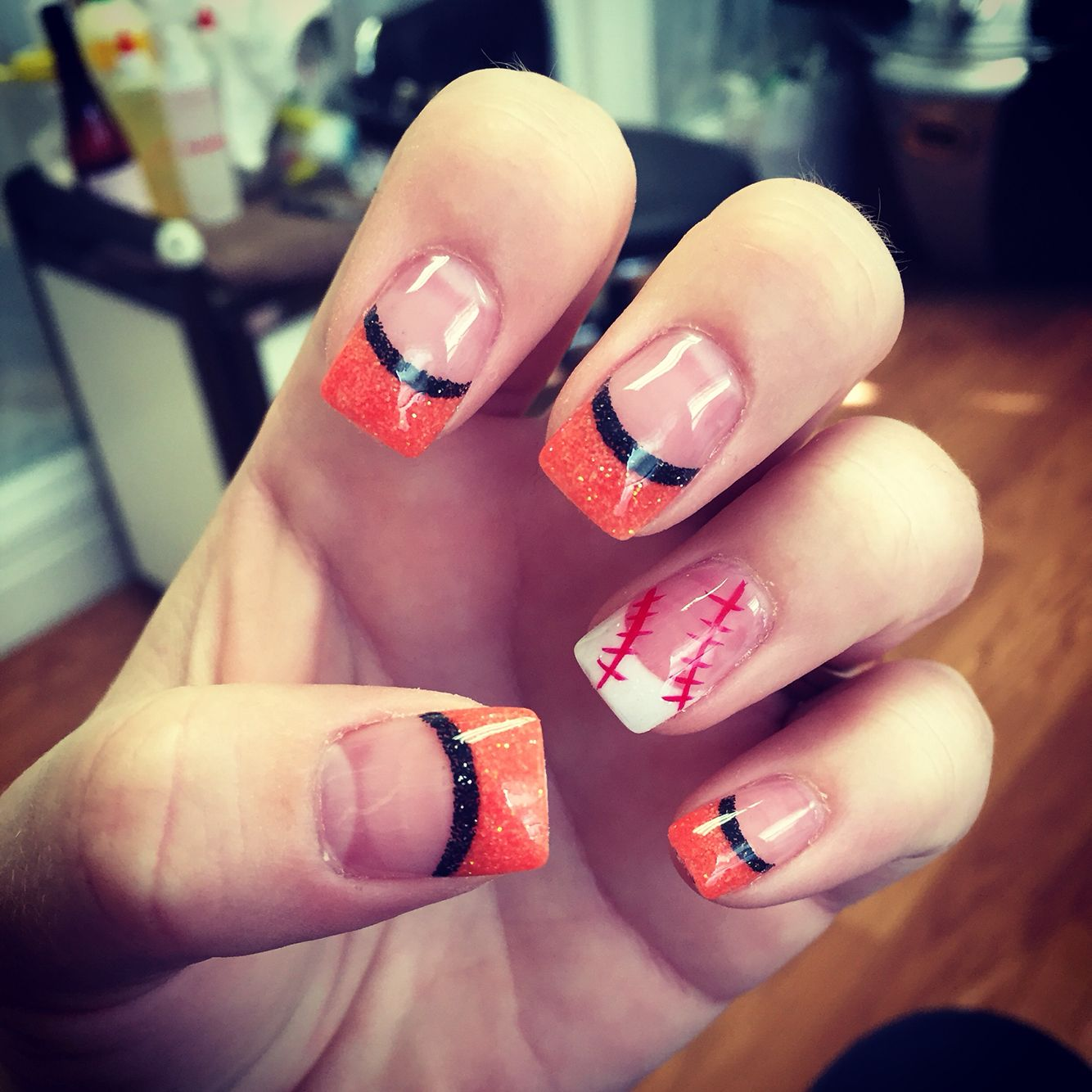SF Giants Nails by Chelsea Vo at Nouvea Skin Salon & Spa in ...