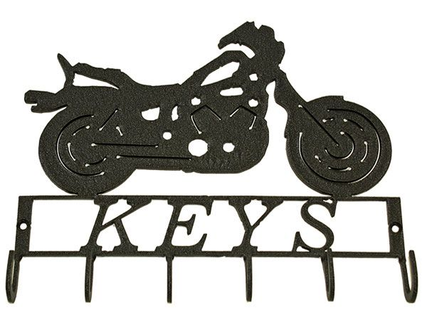 Key Wall Art motorcycle key hanger metal wall art | key hanger ideas | pinterest