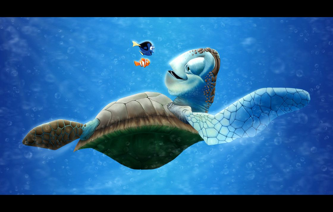 Finding Nemo Little Squirt Squirt Photo Shared By Melvyn