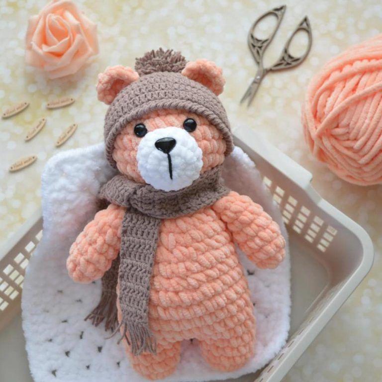 Plush Bear Free Amigurumi Pattern Bichinhos De Croche Amigurumi