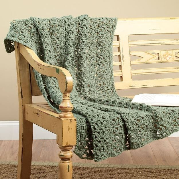 Crochet One To Two Skein Throw One Skein Crochet Easy