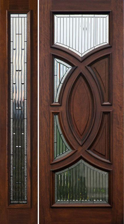 Porta De Entrada Classica Madeira E Vidro Classic Wood Entrance Door With Glasses Puerta De Entrad Entrance Wood Door Mahogany Wood Doors Door Glass Design