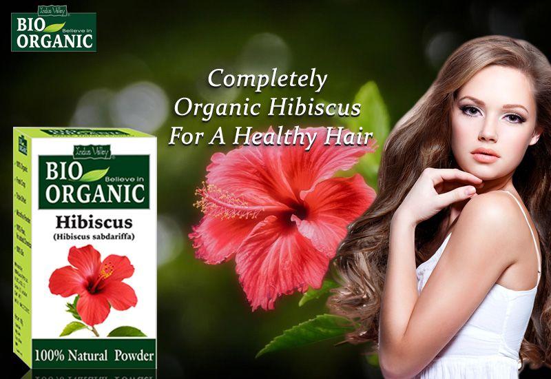 Organic Hibiscus Flower Powder Prevent Hair Fall Hibiscus Natural Conditioner