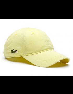 223a0709e868a Lacoste pet - Gabardine cap - sulphur pit yellow