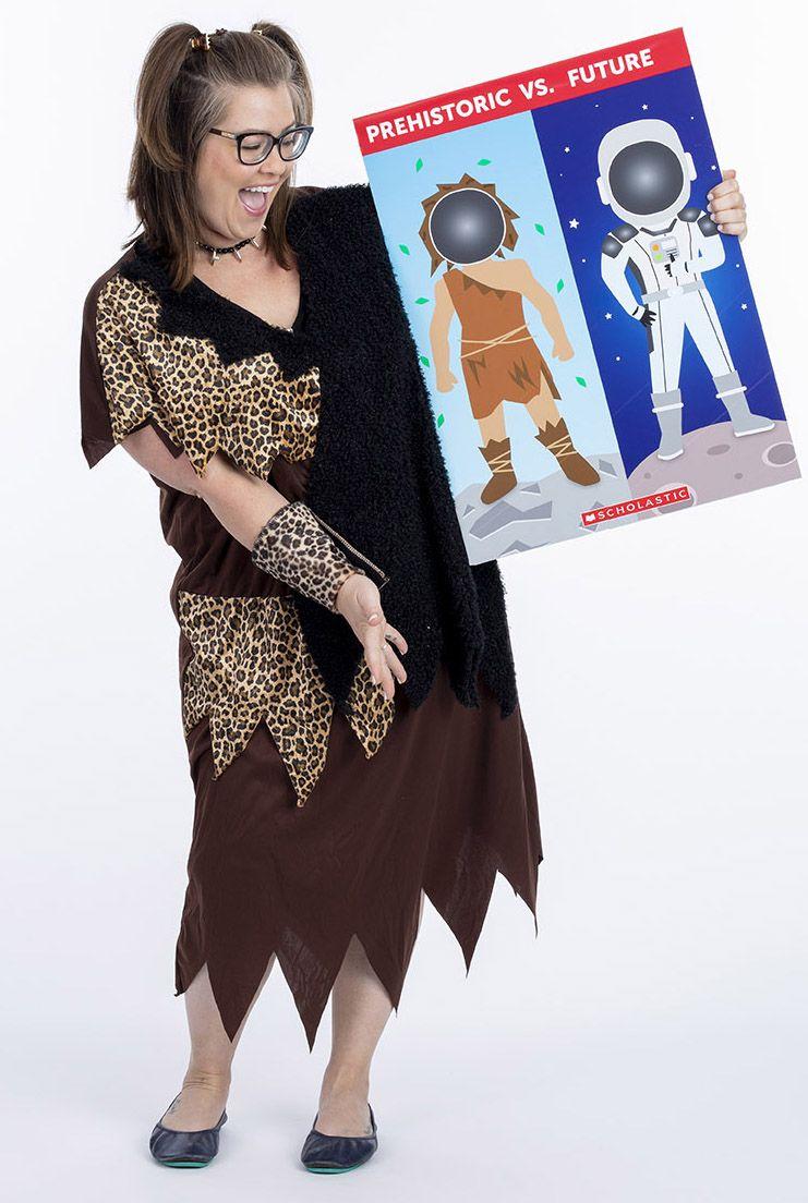 Prehistoric Vs Future Faculty Challenge Futuristic Costume Book Fair Faculties