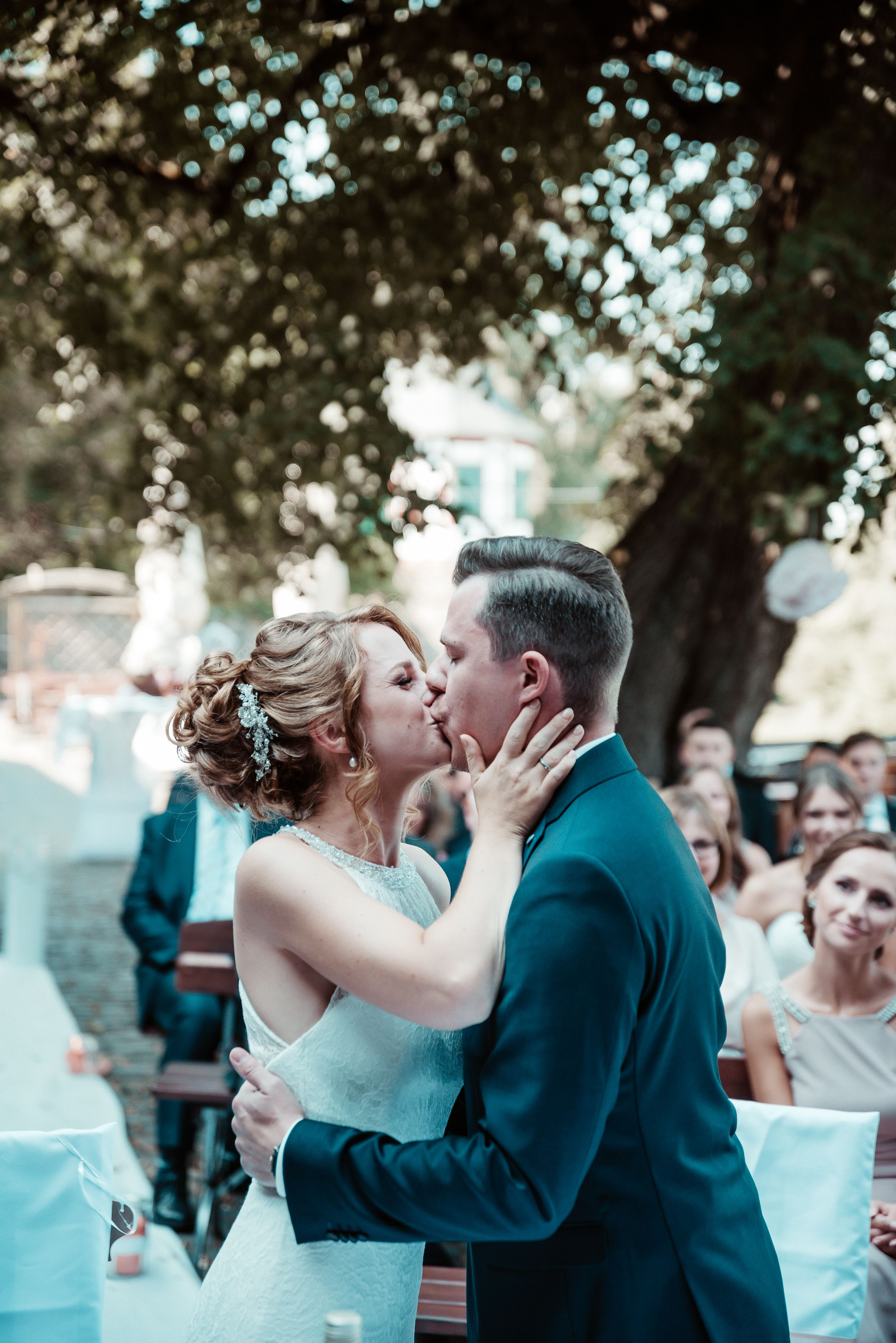 Der Kuss Hochzeitsfotografie Fotos Hochzeit Hochzeitsfotograf