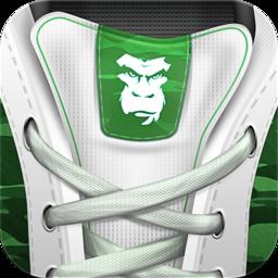 Guerrilla Cardio Secs Sprinting 10 Secs Rest Repeat 12 Mins Mobile App Icon