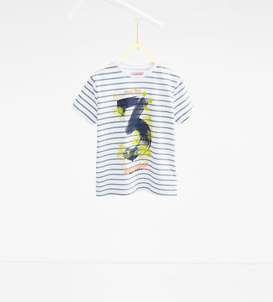 '3' 티셔츠