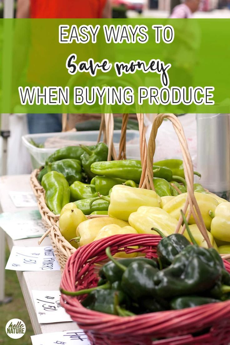 Healthy Eating on a Budget Save Money on Produce with