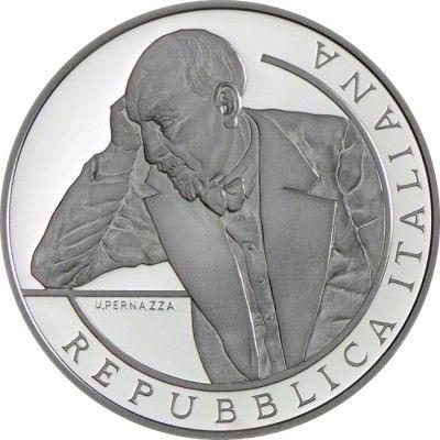 10 Euro Silber Luigi Pirandello - Europastern PP