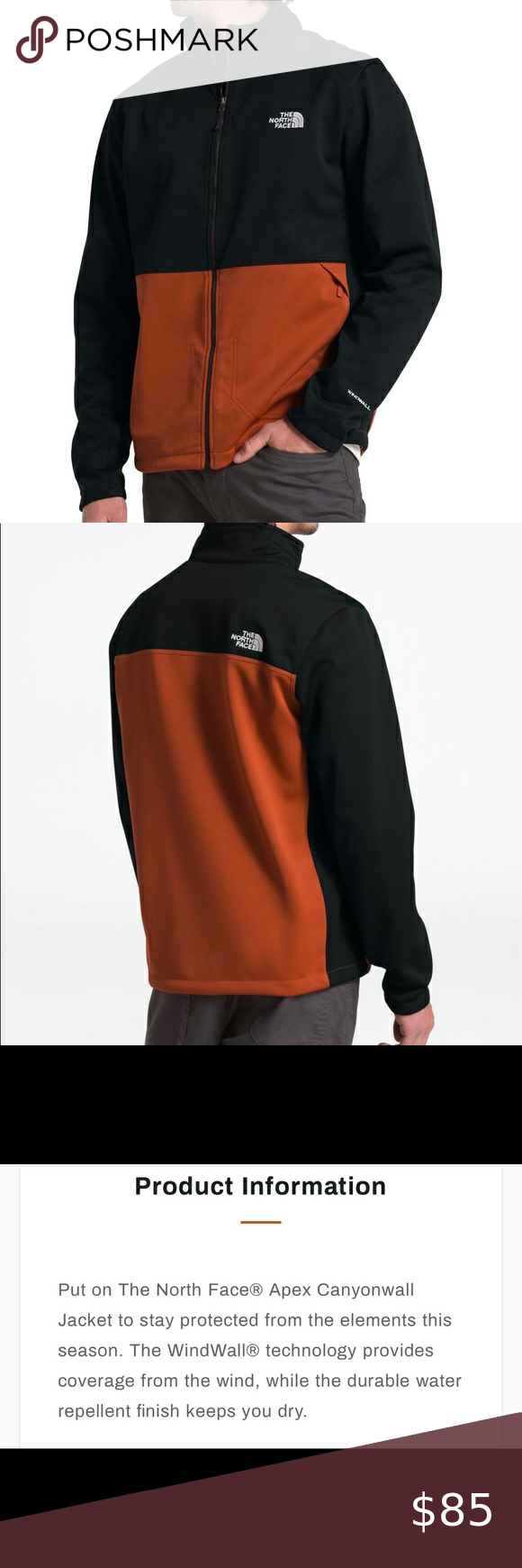 Nwt North Face Apex Cannonwall Full Zip Jacket Xl Jackets Zip Jackets North Face Jacket [ 1740 x 580 Pixel ]