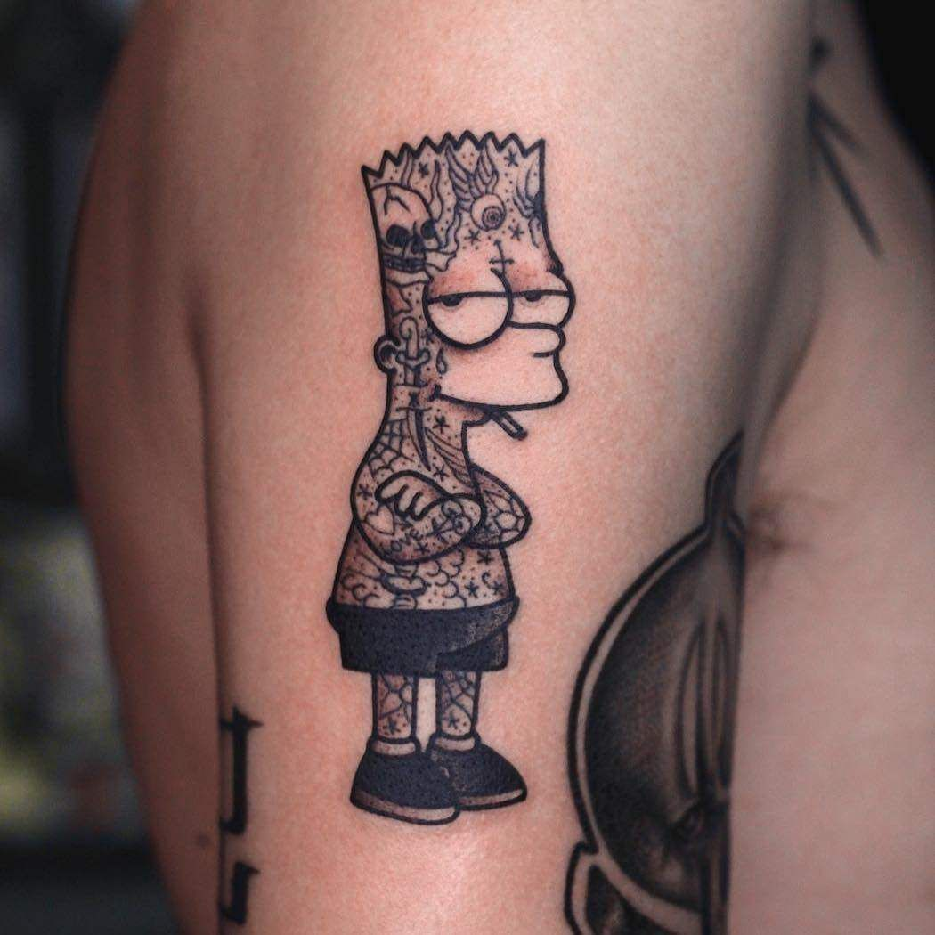 Simson Tattoo: Bart Tattoos All Things, 1000 Images
