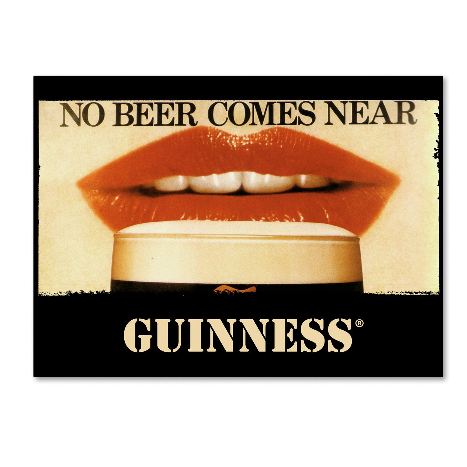 Guinness Brewery No Beer Comes Near Canvas Art - GN0001-C1419GG ...