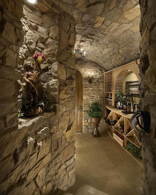 passage de sous sol bar design pinterest cave vin cellier et sous sol. Black Bedroom Furniture Sets. Home Design Ideas