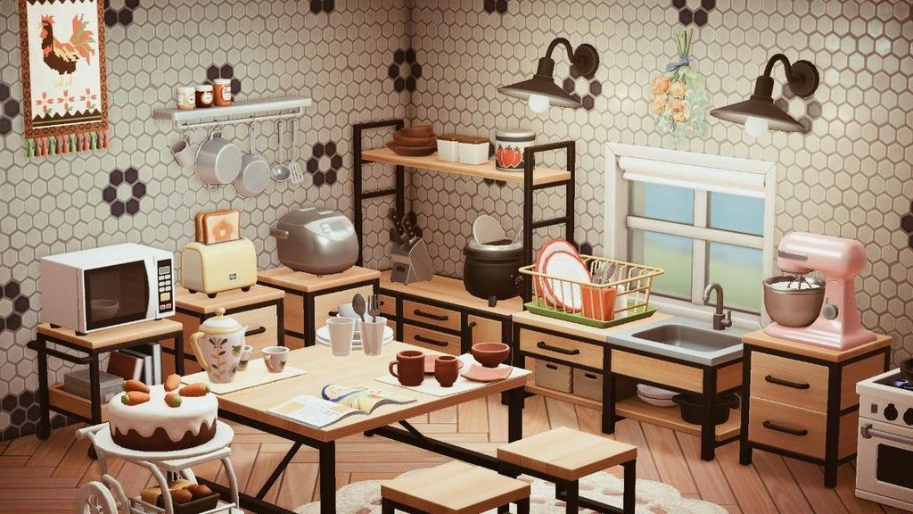Meine Kuche Ist Fast Fertig Animalcrossingtours In 2020 Animal Crossing 3ds Animal Crossing Animal Crossing Game