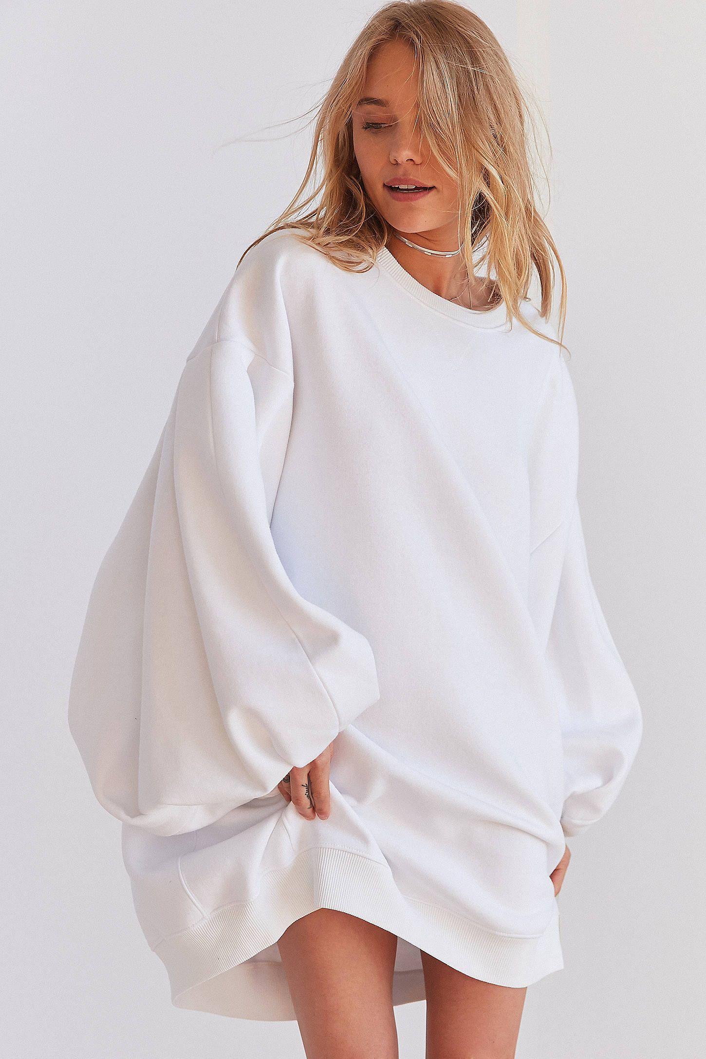 ccf7d73fd4e818 Slide View: 1: Silence + Noise Anna Oversized Sweatshirt Dress Silence +  Noise Anna