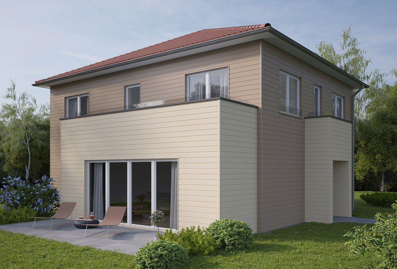 Farbe Taupe Grau Fassaden In Der Farbe Beige And Hausfassade Taupe ...