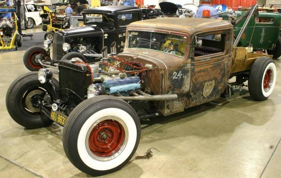 1932 Chevy Rat Rod Truck | Vintage | Pinterest | Rats, Cars and Vehicle