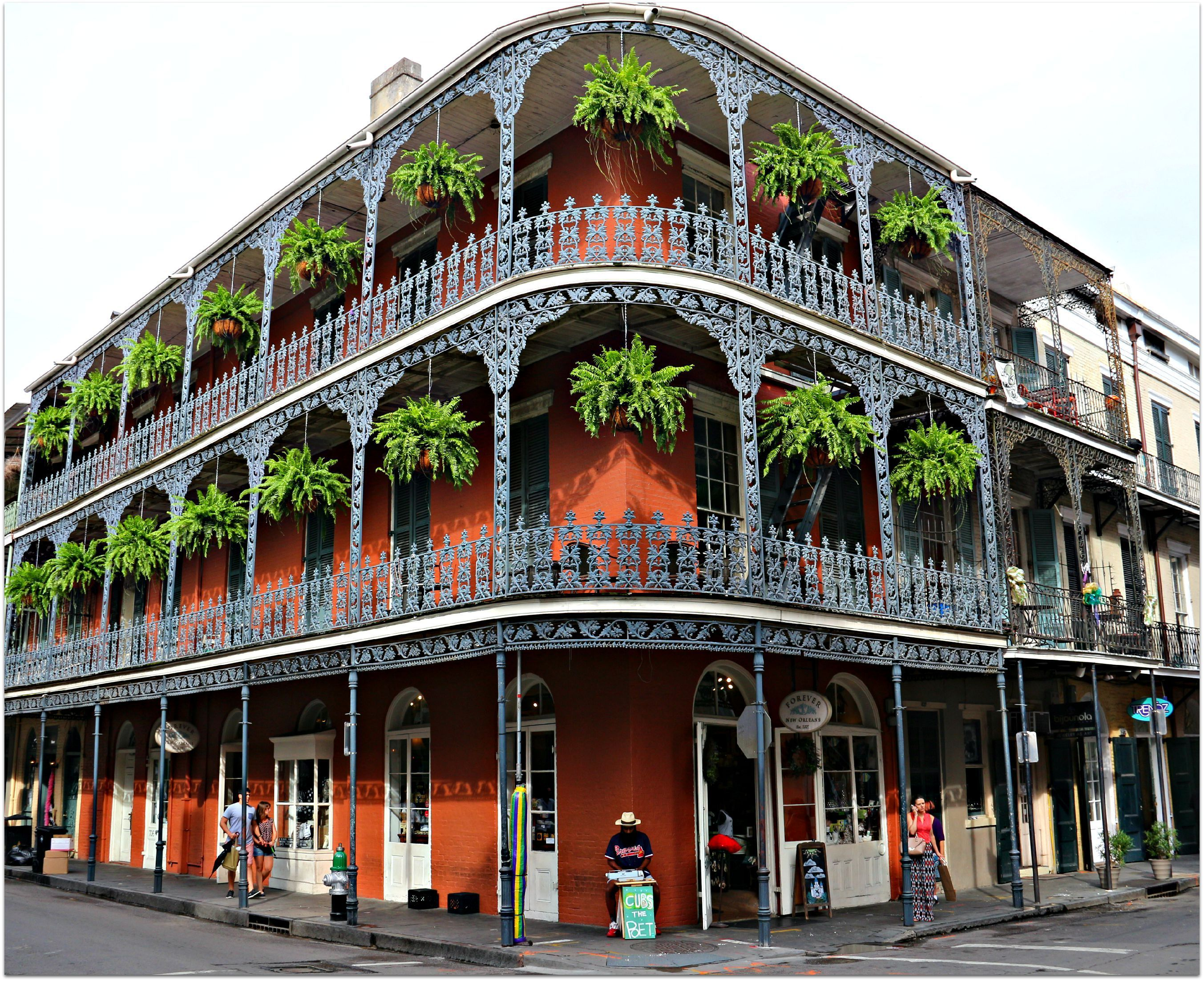 French Quarter Royal Street And Dumaine Street New Orleans