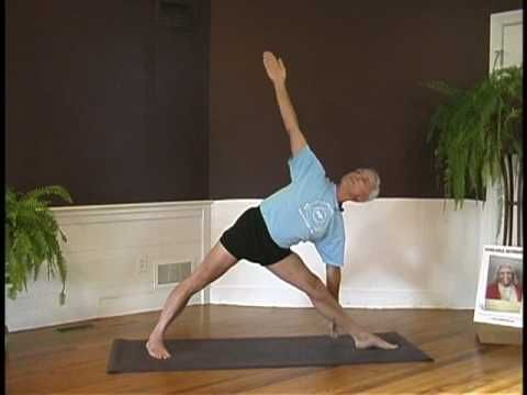 john schumacher teaches utthitatrikonasana  youtube