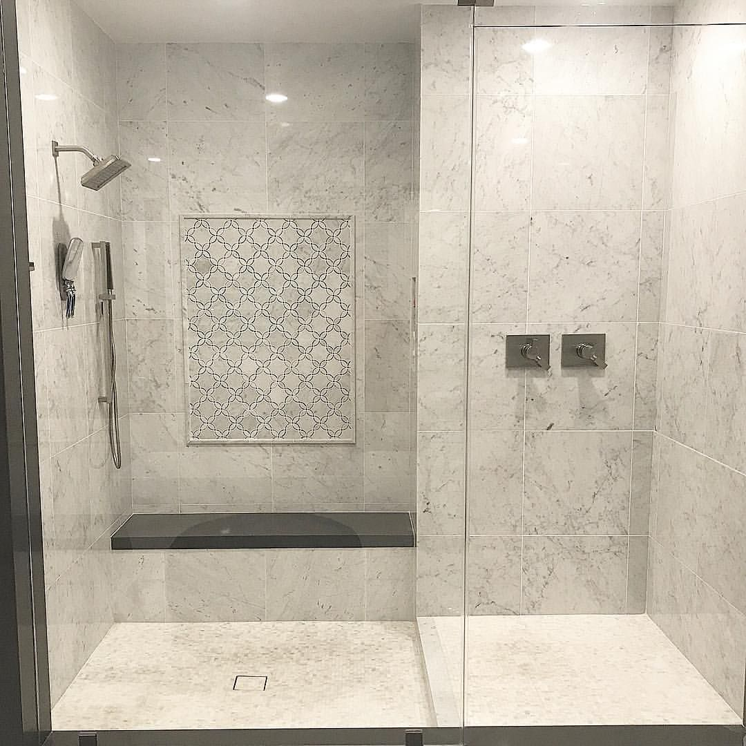 Stone Tile Bathrooms: Pin By TileBuys On TileBuys Waterjet Mosaic & Marble