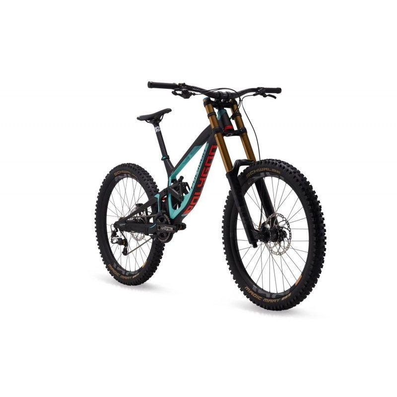 Polygon Collosus Dh9 Dual Suspension Downhill Mountain Bike