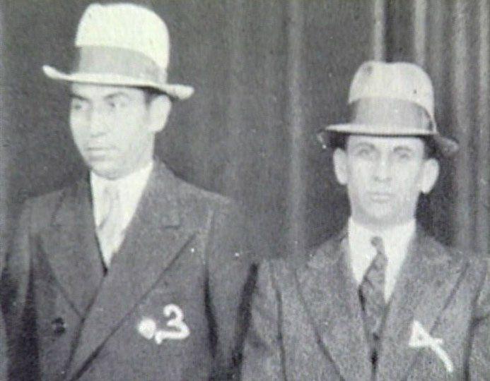 EL HOMBRE QUE MATO A LIBERTY VALANCE: LUCKY LUCIANO - CAPO ...  Meyer Lansky Lucky Luciano