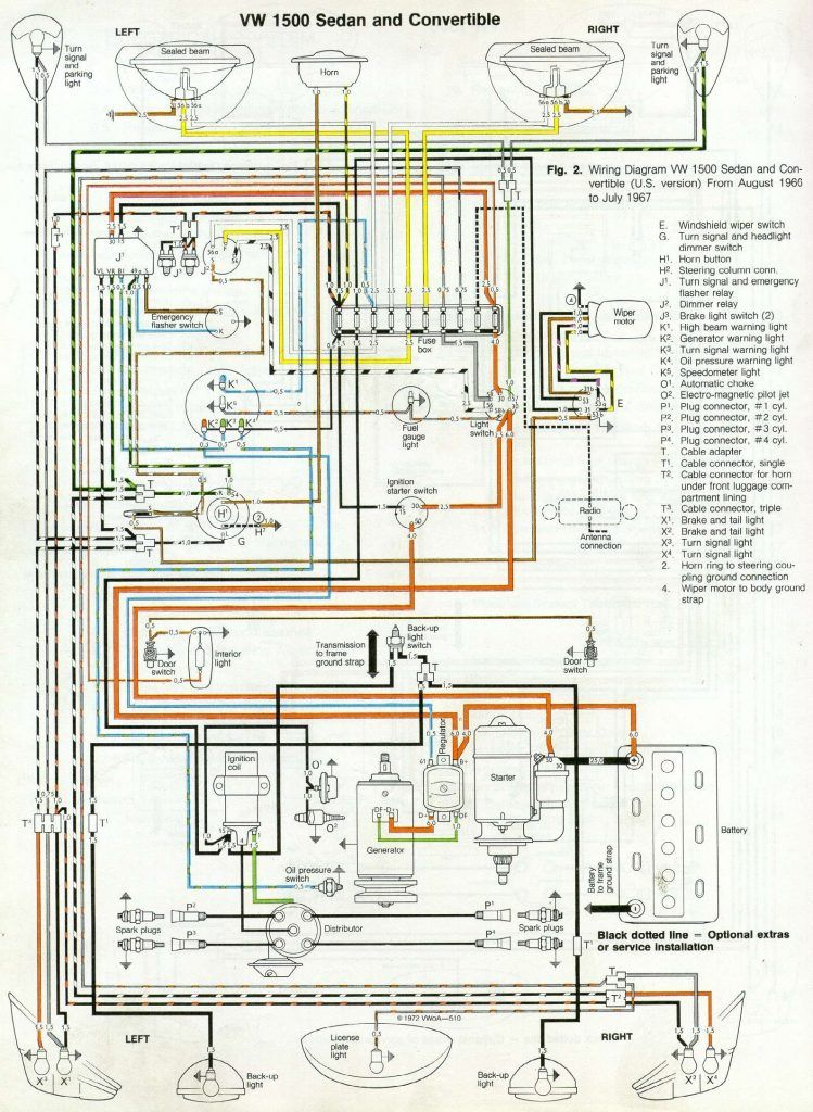 68 Vw Wiring Diagram Wiring Diagram Write From Volkswagen Car Wiring Diagram Source 7 Htrv Bolonka Zwetna Von Der Vw Super Beetle Volkswagen Beetle Vw Beetles