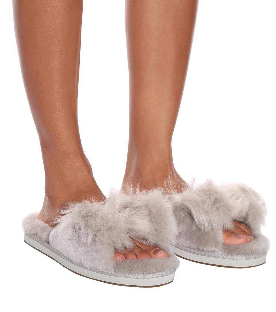 f98c1097b53 Ugg - Mirabelle shearling slippers | Mytheresa | Slippers in 2019 ...
