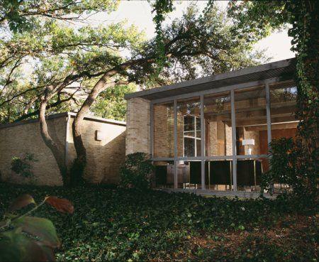 11535 Hillcrest Road Dallas 1958 O Neil Ford Dallas House Real